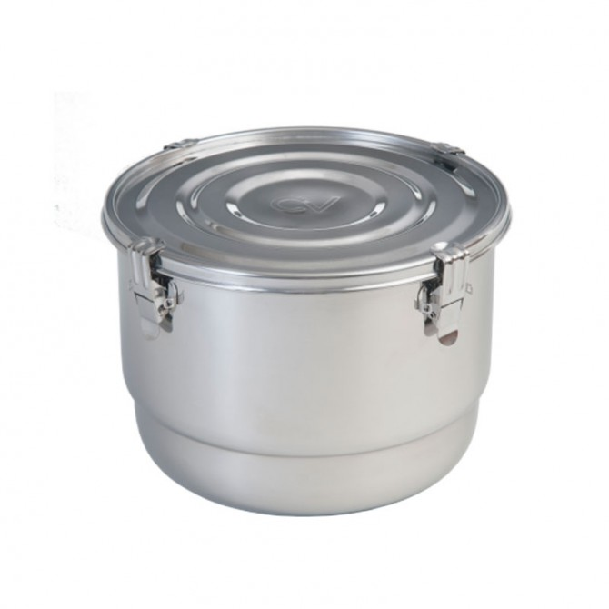 8 Liter Commercial CVault Humidity Curing Stainless Steel Container
