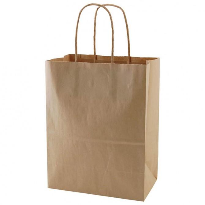 Recycled Shopping Bags – Medium (Kraft)